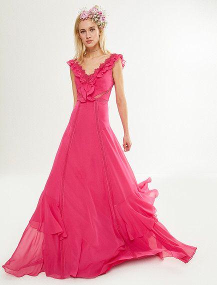 0ecbdf12b25bf Pembe bir elbise modeli mi arıyorsunuz? Koton''un pembe bayan zeynep tosun  for