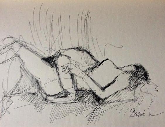 Konrad Biro drawing
