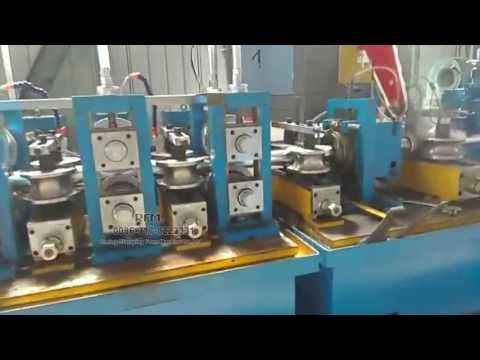 New style square tube roll forming machine