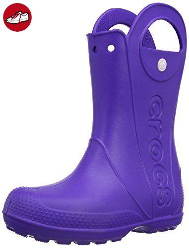crocs Handle It Rain Boot, Unisex-Kinder Kurzschaft Gummistiefel, Violett (Ultraviolet 506), 30/31 EU (C13 Mädchen UK) (*Partner-Link)