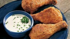 Make chicken the easy way by baking instead of frying. Ranch dressing is the secret to its great flavor.*This is so moist and wonderful. It is a recipe that will never get old.