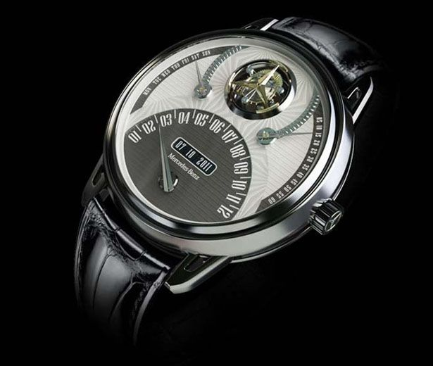 Mercedes 320 Tourbillon Watch by Marko Petrovic