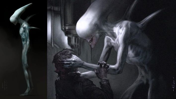 """The Beluga-Xenomorph, also known as the """"Holloway Alien"""" after its host, was a Xenomorph creature cut from Prometheus early in its production. In Jon Spaihts' original script, titled Alien: Engineers, the creature stalked and killed several crew members of the Magellan. Its role was entirely written out of the finished film. After Holloway is attacked and impregnated by an Octo-Facehugger inside the Engineer structure on LV-426, he is found and rescued by Jocelyn Watts. The two return to…"""