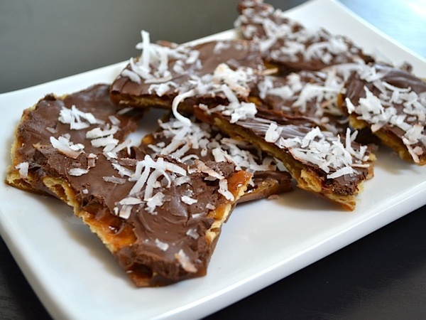 saltine toffee candy  in recipes