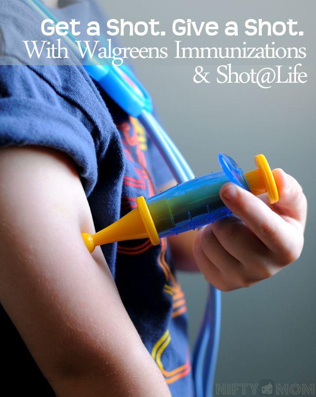 Get a Shot. Give a Shot® with Walgreens Immunizations & Shot@Life #GiveaShot #shop #cbias