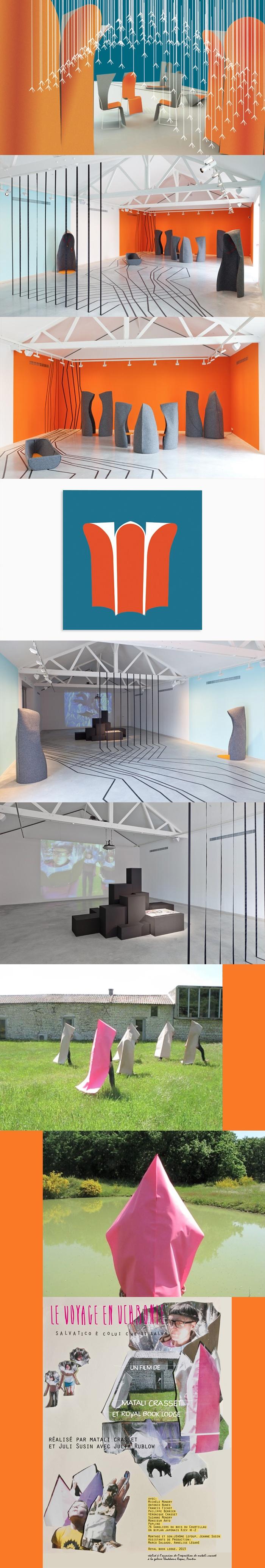 Galerie Thaddaeus Ropac – Pantin : Matali Crasset – le voyage en Uchronie