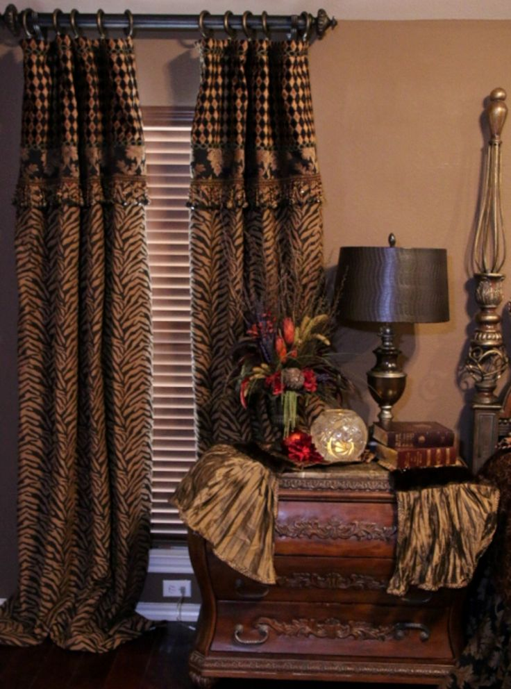 DRAPES: Order today, yours in about a week! Style #7 Madagascar. All styles available in all Reilly-Chance fabrics.