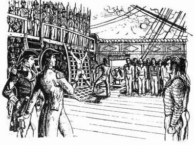 Image result for british navy 18th century punishment