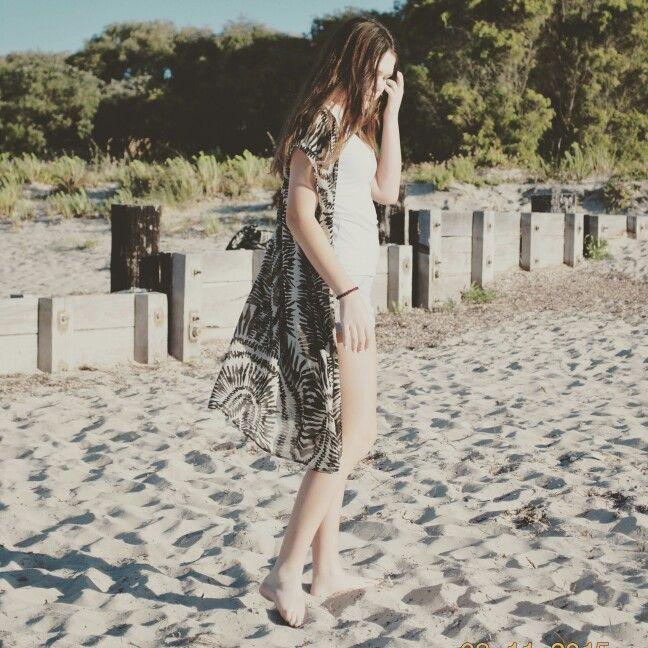Beachy upcycled Kimono