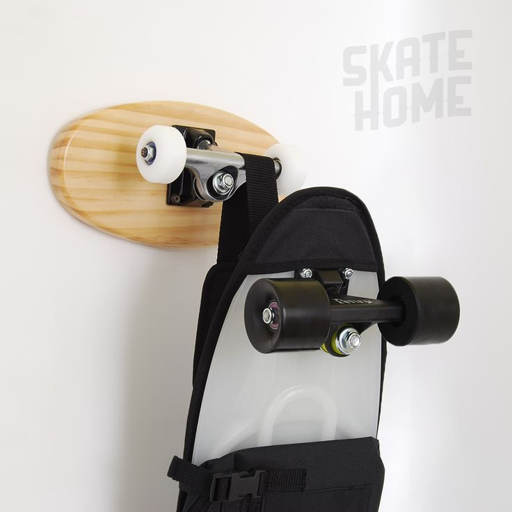 Skateboard coat rack. Now ready for coats, scarves, purses, backpacks,  leashes