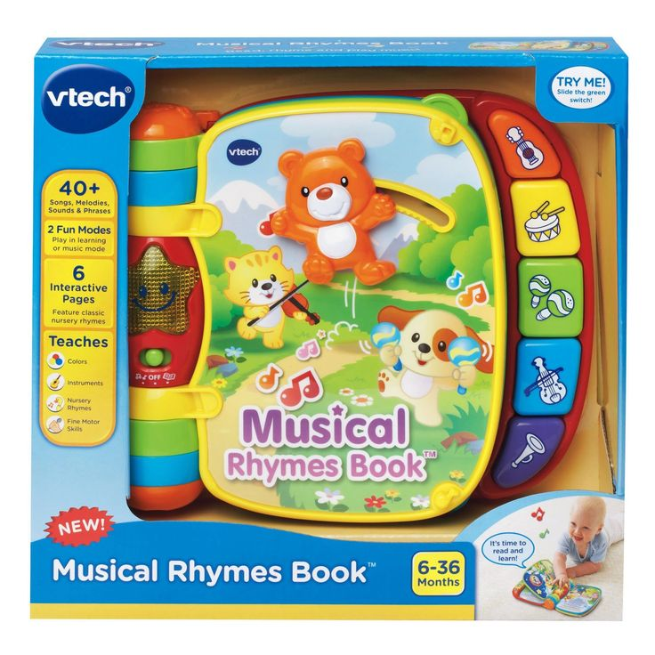 Amazon.com: VTech Musical Rhymes Book: Toys & Games