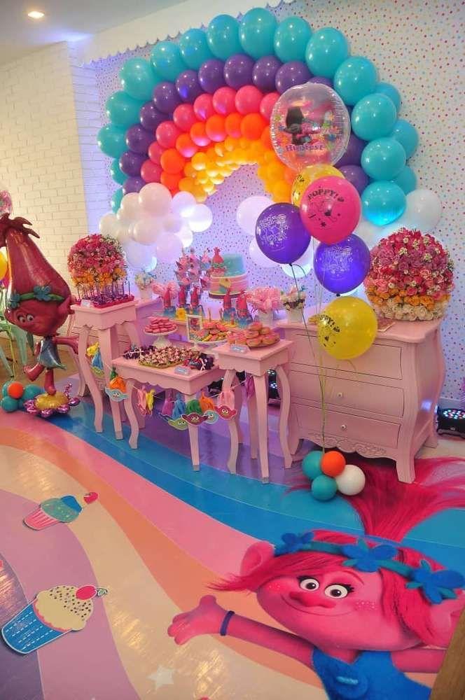 Trolls Birthday Party Theme