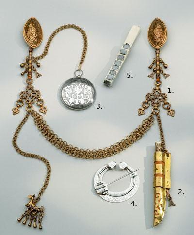 Replica Jewelry for Mikkeli/Mikkeli Tuukkala dresses by Kalevala Koru.