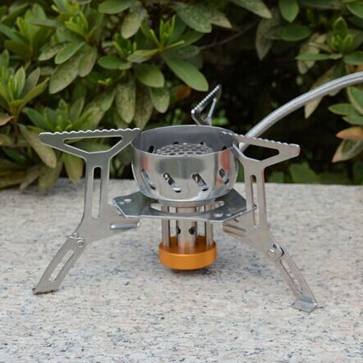 New Camping Stove Wind-resistant Remote Stove Outdoor Cooking Stove FMS-121