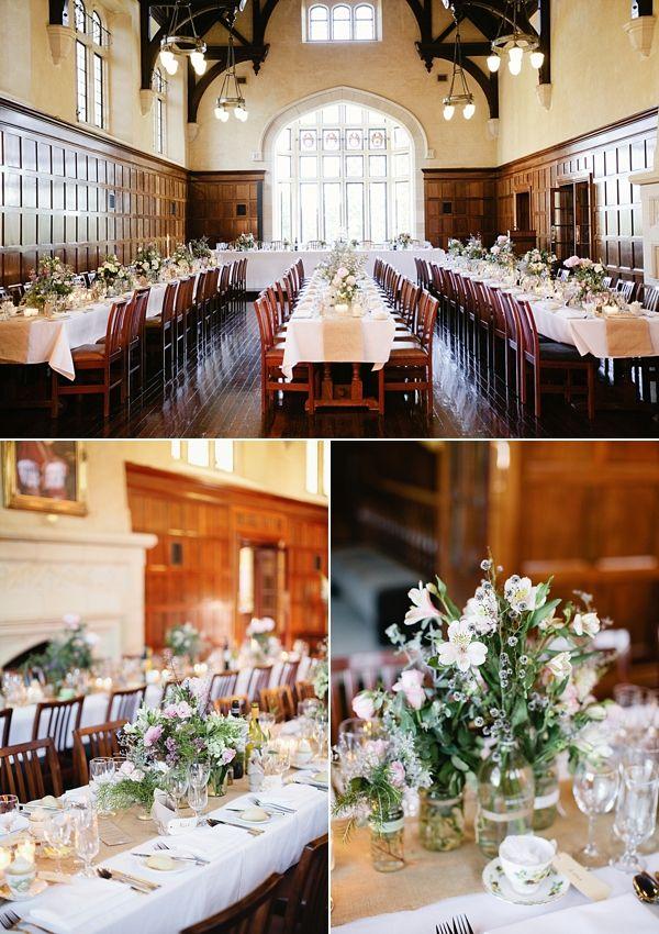 St Georges College wedding reception