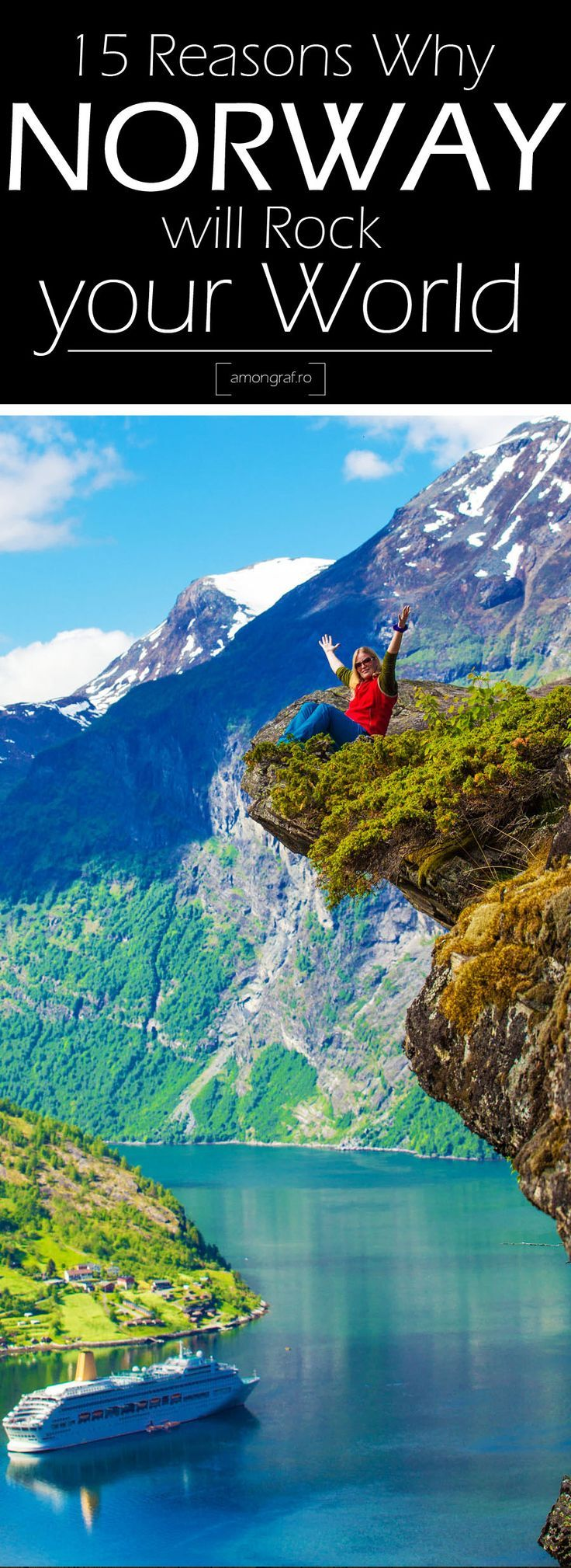 15 reasons why Norway will Rock your World! #Norway is a country that has several wonderful adventure places within the world. It's home to additional natural wonders than we can count and it's gorgeous cities, fascinating history and extremely happy individuals.