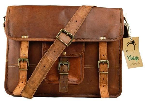 Vintage Darwin Satchel - Vintage Leather