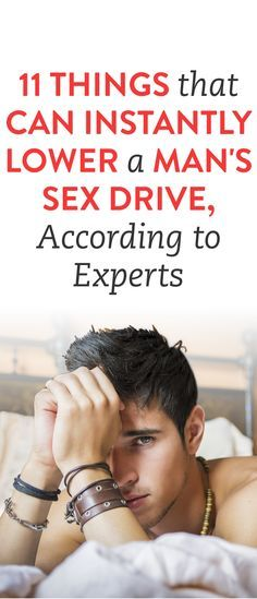 11 Things That Can Instantly Lower A Man's Sex Drive, According To Experts