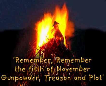 Guy Fawkes Night. 5th of November.
