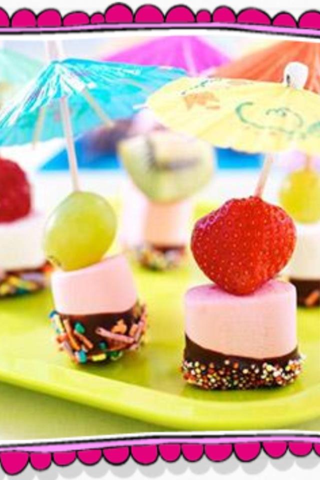Tropische marshmallows