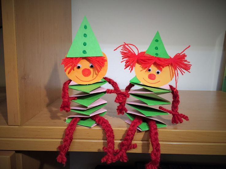 Clown brothers :) simple to make paper toy.
