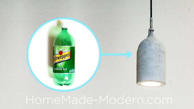 Homemade Modern, Episode 9 – DIY concrete pendant lamp on Vimeo