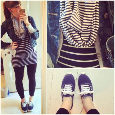 #whatiwore #dailyoutfit #outfitideas #maternityfashion #fashion #maternityclothes How to dress when pregnant. Pregnancy fashion ideas. Nautical fashion