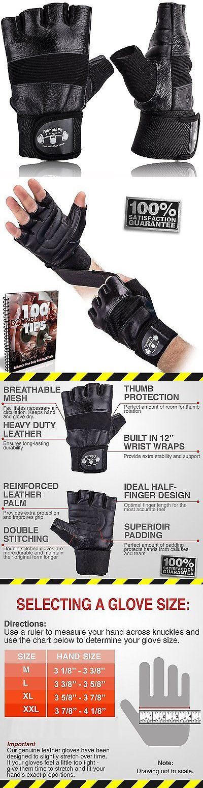 Gloves Straps and Hooks 179820: Size L Gym Gloves For Men With Wrist Support - Best For Weightlifting, Workouts, -> BUY IT NOW ONLY: $35.96 on eBay!