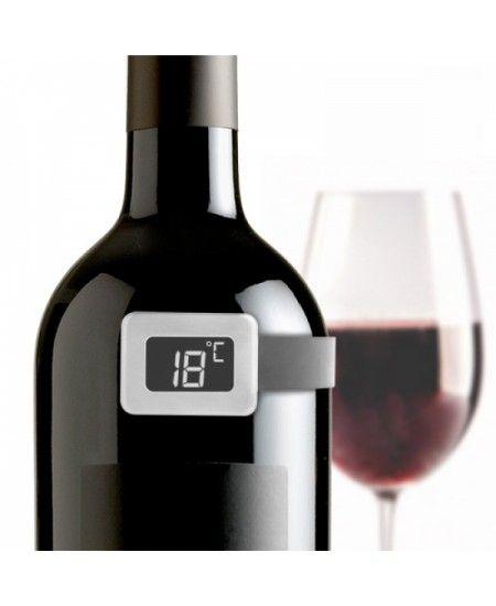 Temperatura vinului se poate afla foarte usor, cu ajutorul acestui.... termometru pentru sticla de #vin --- https://goo.gl/KOMhUp