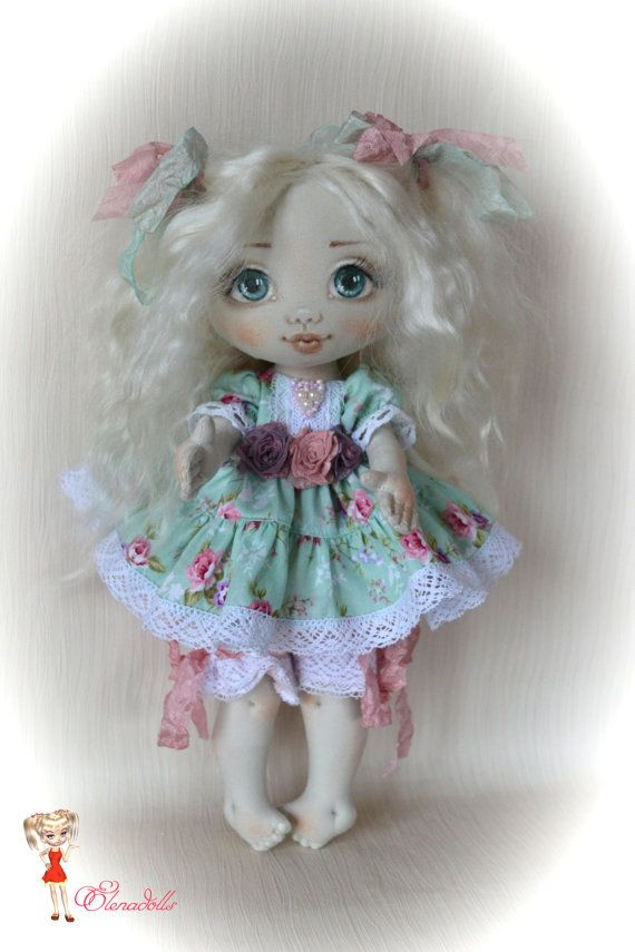 Angelina. Textile doll. Interior doll. Sweet and от ElenaDolls
