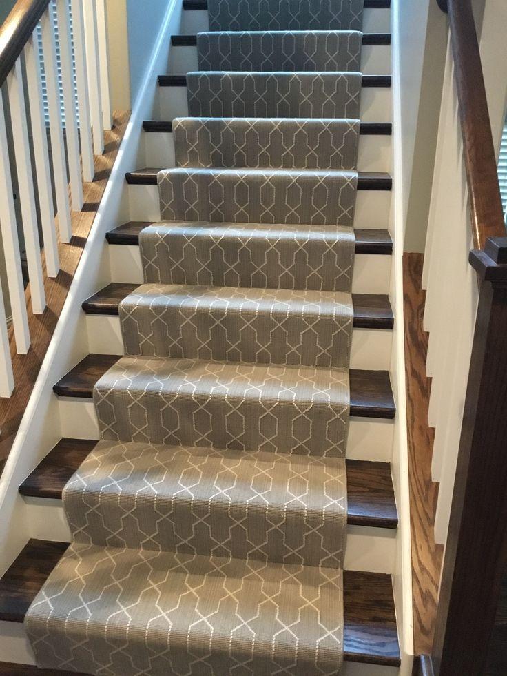 Elegant Basement Stairs Carpet
