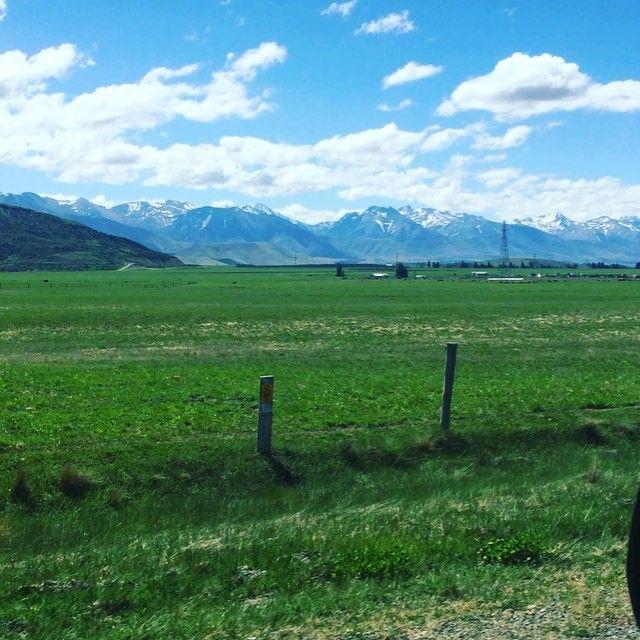 #nz #roadtrip #mountains #newzealand #snow