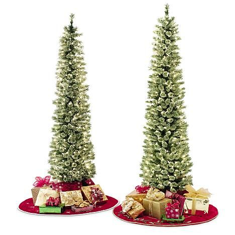 7 best slim christmas tree images on pinterest slim christmas tree artificial christmas trees. Black Bedroom Furniture Sets. Home Design Ideas