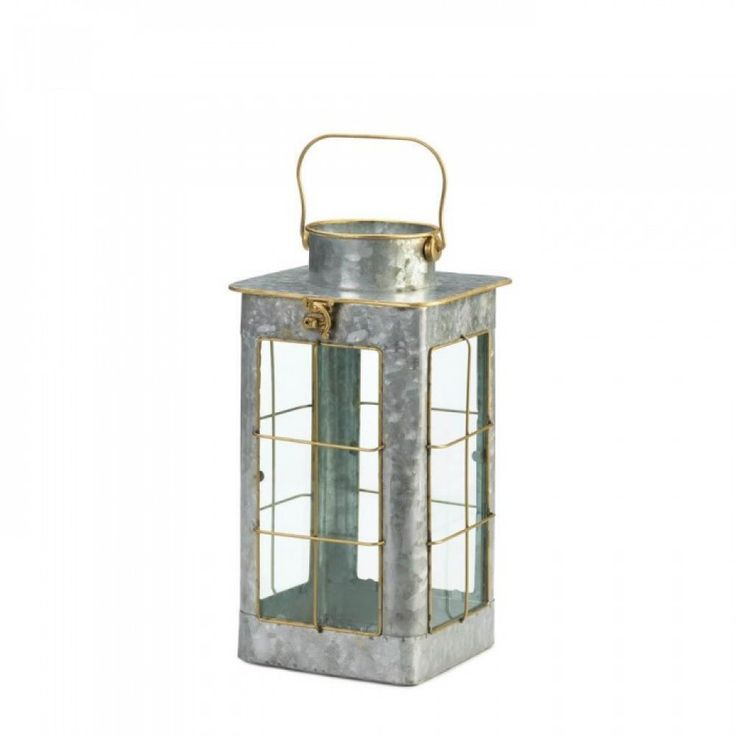 galvanized metal house lantern - 736×736