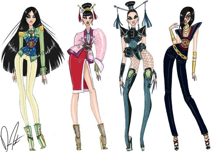 Disney fashion frenzy, Mulan Collection by Daren J
