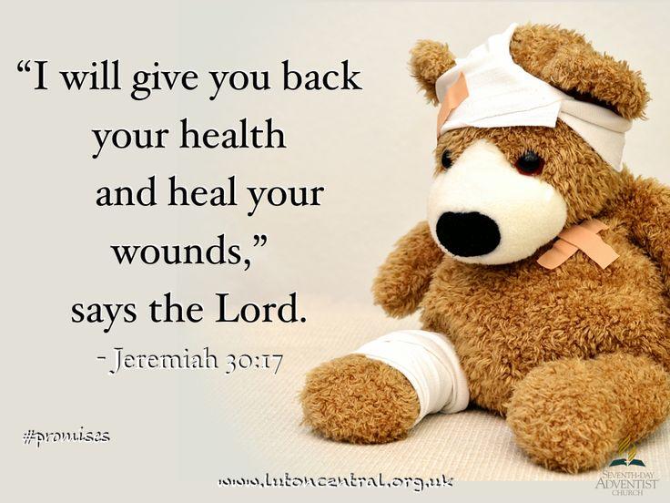 Jeremiah 30:17 #promise #healing #health #God #verseoftheday #bible #scripture