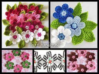 Tina's handicraft : 3d flowers