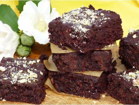 Céklás, kókuszos brownie - MINDENMENTES