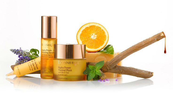 Birch Tree Sap anti-aging cosmetics