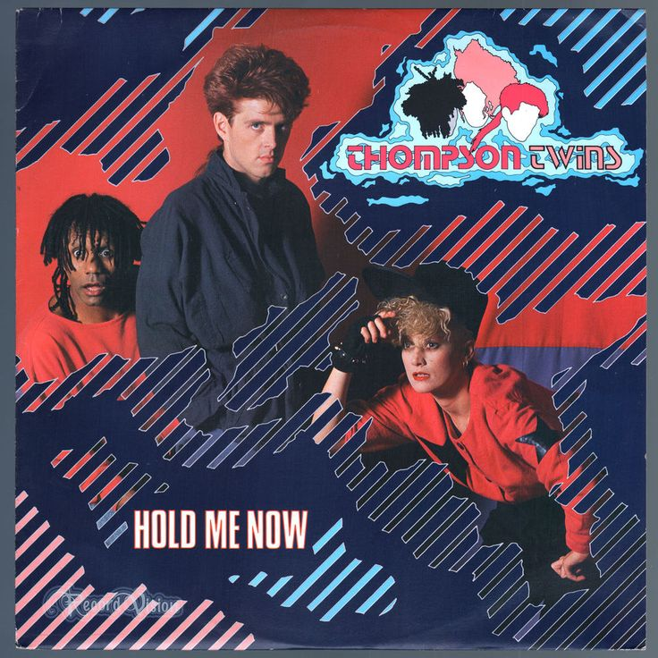 #Hold #Me #Now, by British band the #Thompson #Twins, was released as the first single off their album, #IntoTheGap. It was an unexpected departure from the #ThompsonTwins' previous #dance-oriented sound, it largely replaces the trio's synth-dance style with a more mainstream piano-based melody, keeping ties to their earlier sound through a prominent bass line and #AlannahCurrie's #Latin percussion. The single became the band's highest charting single. #Vinyl #LP