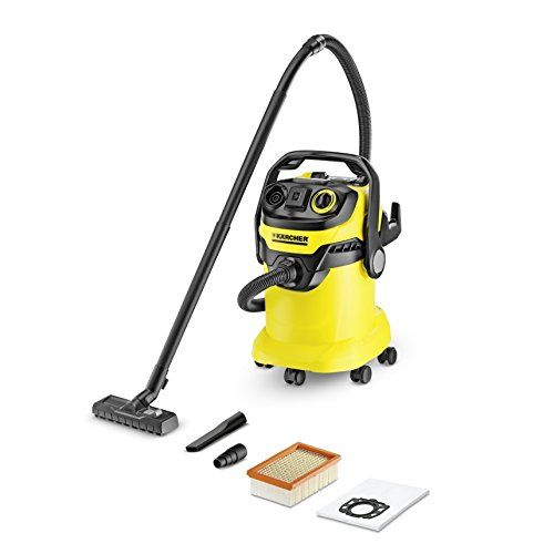 Karcher WD5P MultiPurpose Wet Dry Vacuum Cleaner with SemiAutomatic Filter Cleaning SpaceSaving Design * Read more reviews of the product by visiting the link on the image.Note:It is affiliate link to Amazon.