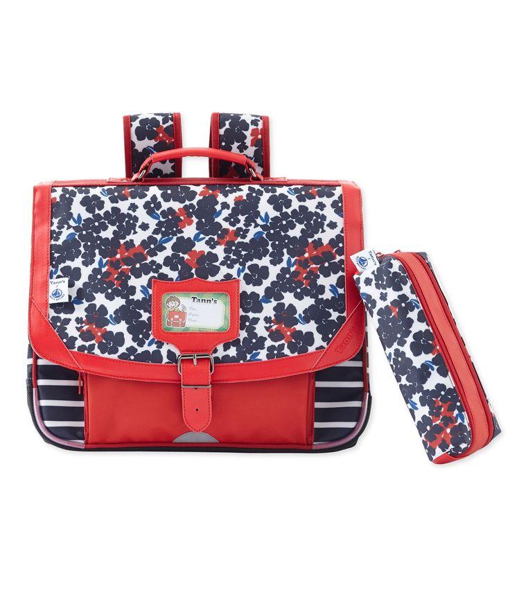 Cartable Tann's x Petit Bateau rouge Froufrou / blanc Multico. Retrouvez notre gamme de vêtements et sous-vêtements pour bébé, enfant, mode femme et homme.