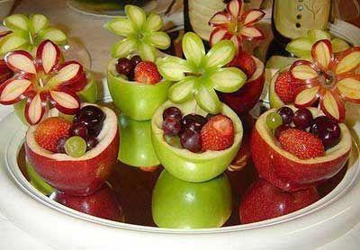 Como Fazer Decoração com Frutas Simples e Fácil