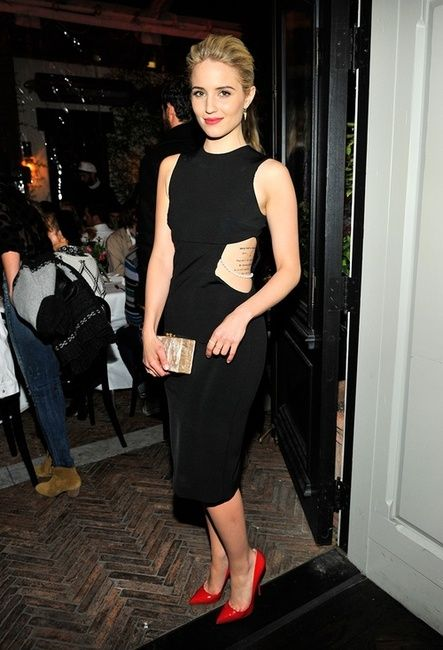 Dianna Agron tattoo placement