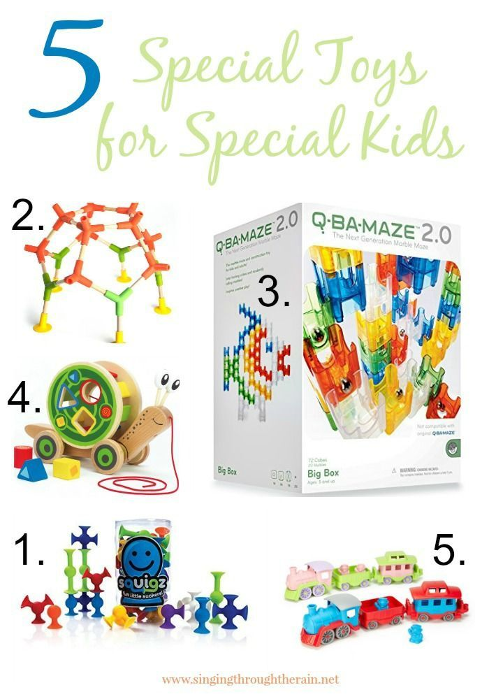 Toy Store With a Cause: Special Toys for Special Kids | Don't miss out on these 5 toys that are perfect for kids with autism, SPD, and MORE!