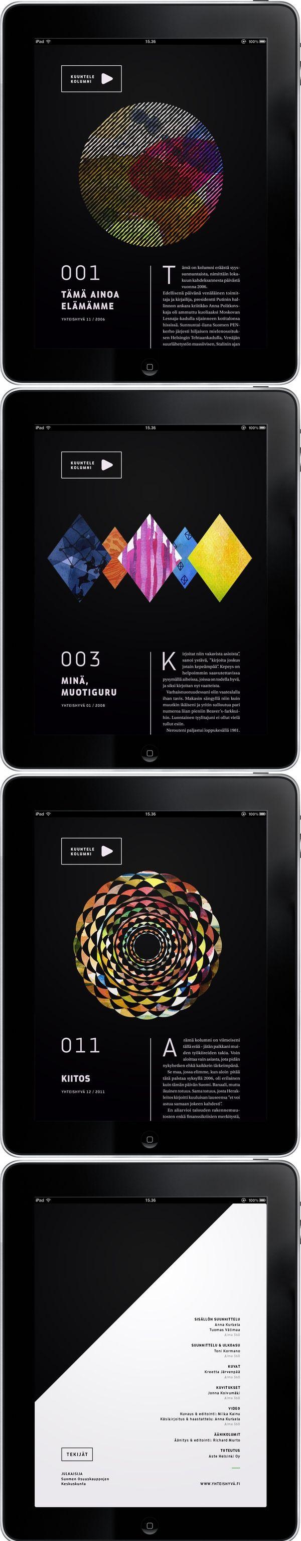 Kjell Westö iPad Publication. |  #appdesign #interface #design
