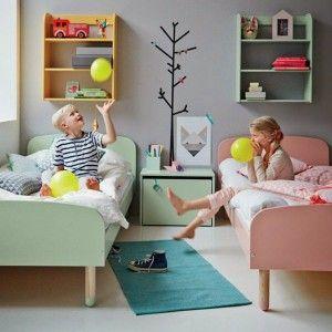 Gedeelde slaapkamer met flexa bedden