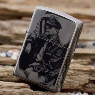 Black ice General of Douglas Macarthur Zippo Lighter