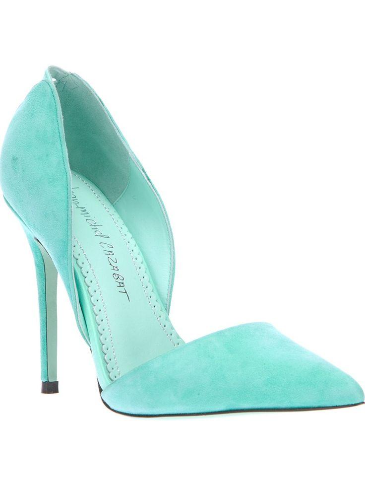 JEAN-MICHEL CAZABAT - mint/ aqua shoes