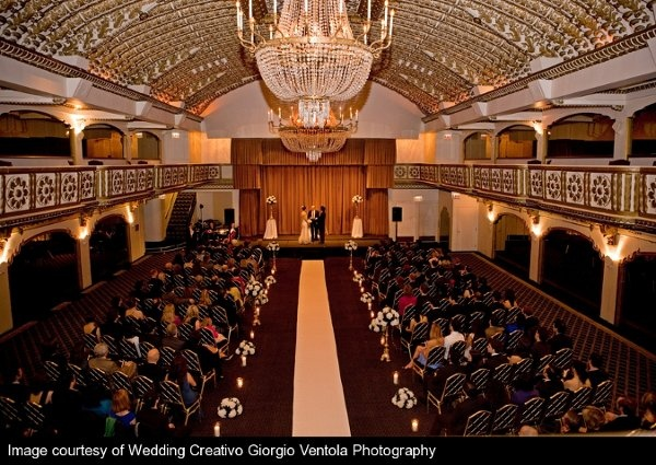 wedding at the knickerbocker hotel coordinated by chicago wedding planner camille victoria weddings llc